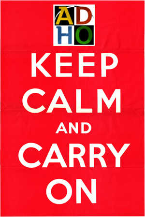 Stay Calm and Carry DH