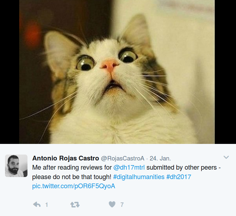 I am not the only one surprised about the criticism of the DH reviewers